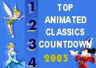 Top Animated Classics Countdown, 2003