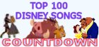 Top 100 Disney Songs Countdown